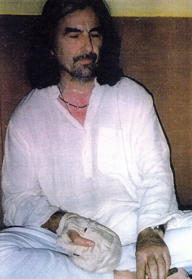 George Harrison Last Photo George harrison in vrindavan