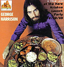 George Harrison Hare Krishna Launch Party 1969